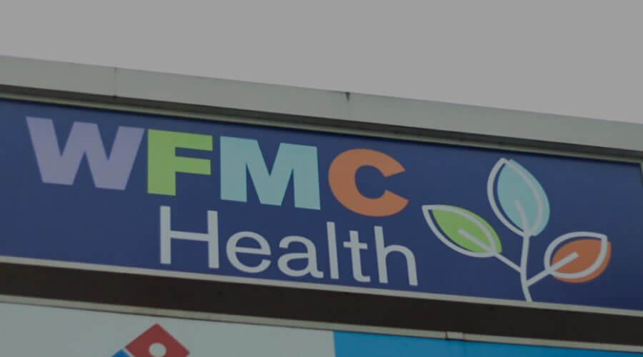 WFMC Health Sign